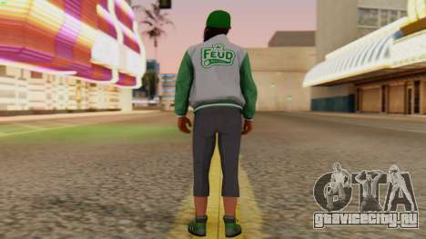 [GTA5] Fam Girl для GTA San Andreas третий скриншот