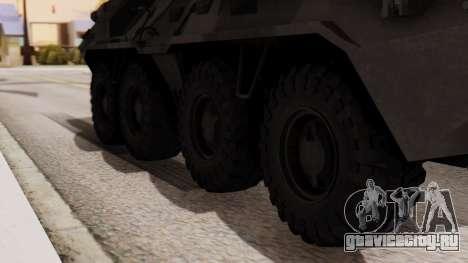 БТР-80 для GTA San Andreas вид сзади слева