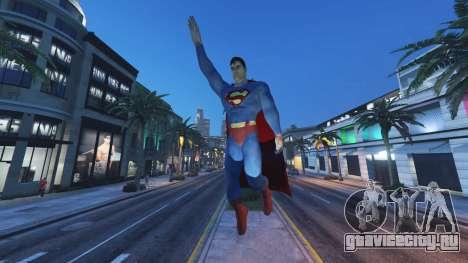 Статуя Супермен для GTA 5