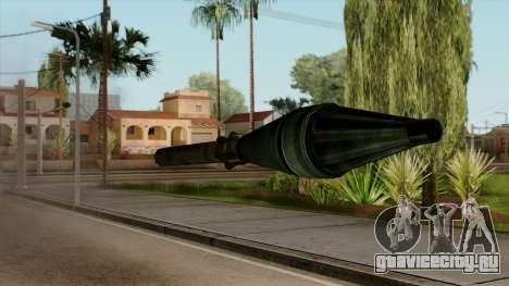 Original HD Missile для GTA San Andreas третий скриншот