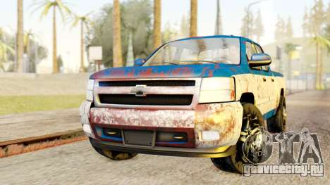 Chevrolet Silverado 2010 TLoU Edition для GTA San Andreas