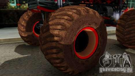 The Seventy Monster для GTA San Andreas вид сзади слева