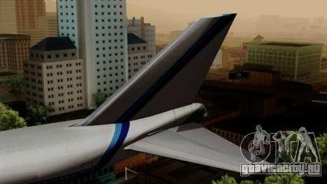 Boeing 747 Eastern для GTA San Andreas вид сзади слева