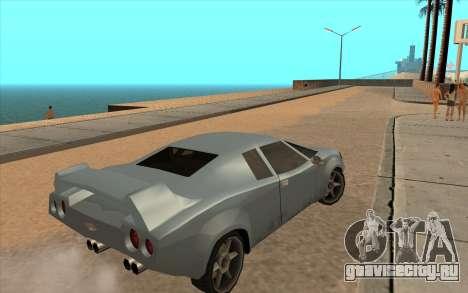 GTA VC Infernus SA Style для GTA San Andreas вид сбоку