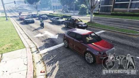 Реалистичное заполнение улиц и дорог 4GBRAM для GTA 5 второй скриншот