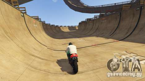 Double-Loop Racing-Court для GTA 5