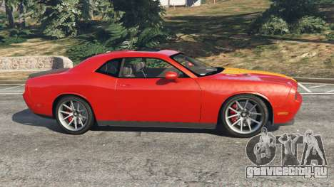 Dodge Challenger SRT8 2009 v0.1 [Beta] для GTA 5 вид слева