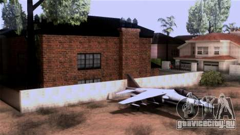 CJs New Brick House для GTA San Andreas третий скриншот