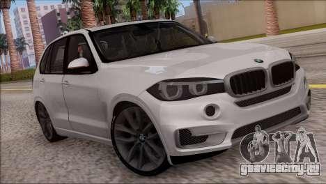 BMW X5 F15 BUFG Edition для GTA San Andreas