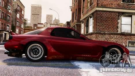 Mazda RX-7 RocketBunny EPM для GTA 4 вид сверху