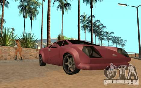 GTA VC Infernus SA Style для GTA San Andreas
