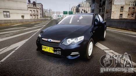Ford Falcon FG XR6 Unmarked NSW Police [ELS] для GTA 4