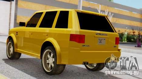Nulander Kurai для GTA San Andreas вид слева