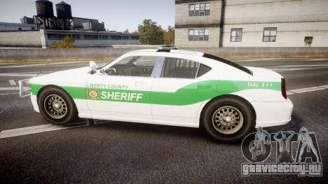 Bravado Buffalo Police [ELS] для GTA 4 вид слева