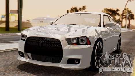 Dodge Charger SRT8 2012 LD для GTA San Andreas