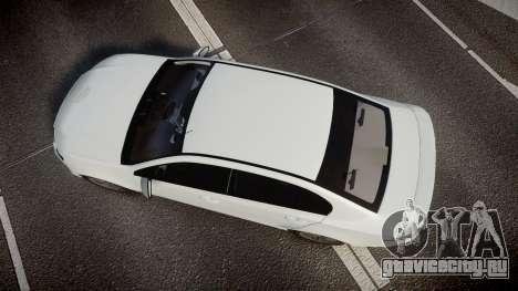 Ford Falcon FG XR6 Turbo Unmarked Police [ELS] для GTA 4 вид справа