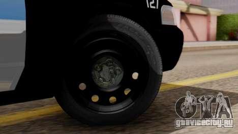 Police LV 2013 для GTA San Andreas вид сзади слева
