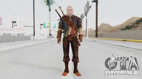 [The Witcher] Геральт для GTA San Andreas второй скриншот