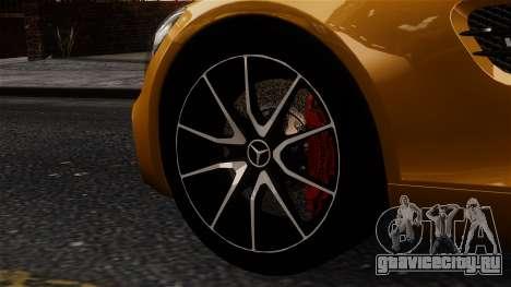 Mercedes-Benz SLS AMG GT 2016 для GTA 4 вид сзади слева
