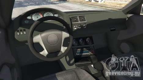BMW M3 GTR E46 PJ4 для GTA 5 вид справа