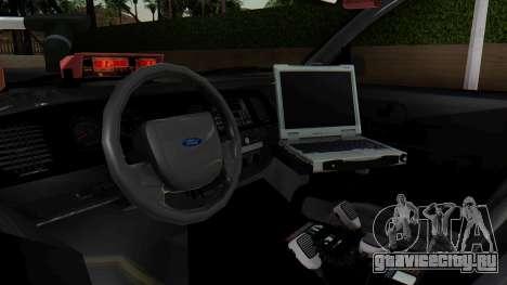 FBI Rancher 2013 для GTA San Andreas вид справа
