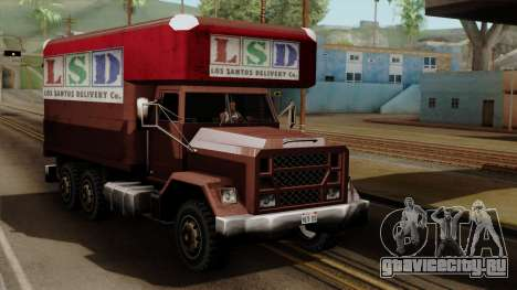 New Flatbed Industrial для GTA San Andreas