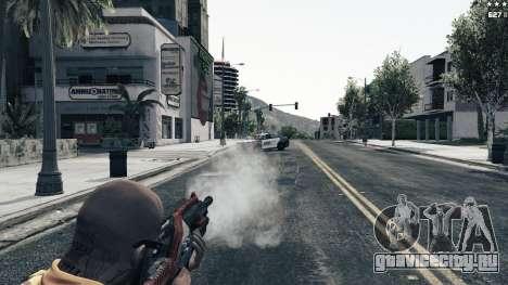 M-76 Revenant из Mass Effect 2 для GTA 5 седьмой скриншот