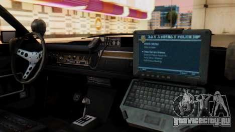 GTA 5 Albany Esperanto Police Roadcruiser для GTA San Andreas вид справа