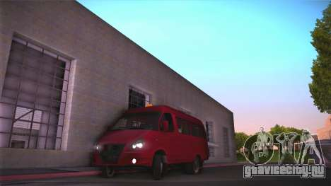 Газ 32213 для GTA San Andreas вид слева