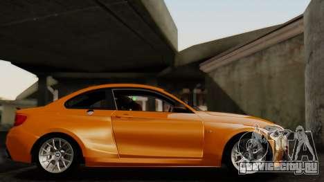 BMW M235i F22 Sport 2014 для GTA San Andreas вид сзади