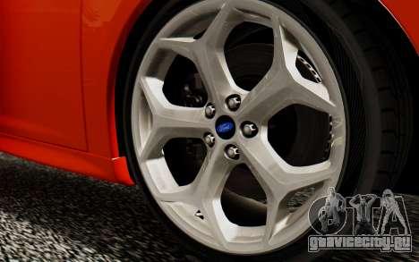 Ford Focus ST 2012 для GTA San Andreas вид справа