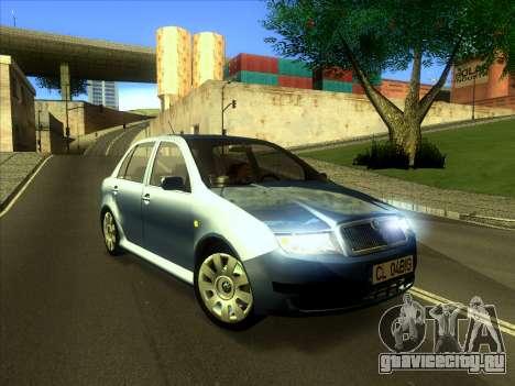 Skoda Fabia 2001 для GTA San Andreas