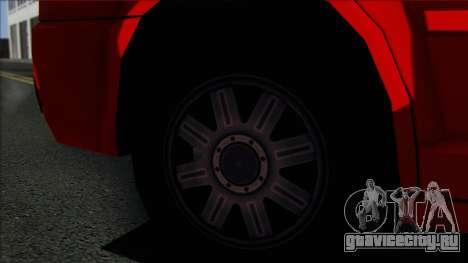 Chrysler 300C SA Style для GTA San Andreas вид сзади слева