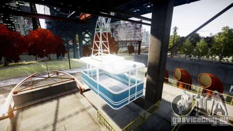 GTA V Cable Car для GTA 4 второй скриншот
