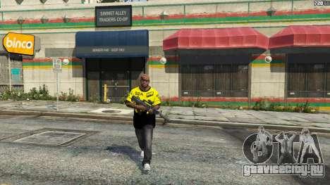 Футболка Natus Vincere для Франклина для GTA 5 четвертый скриншот