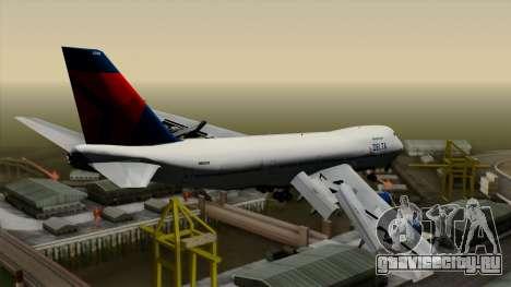 Boeing 747 Delta для GTA San Andreas вид слева