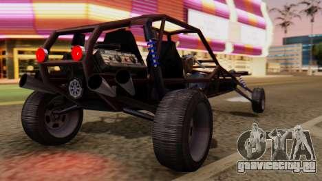 Двухместный Bandito для GTA San Andreas вид слева