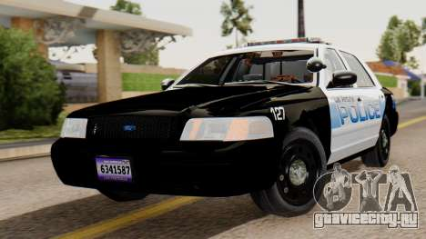 Police LV 2013 для GTA San Andreas