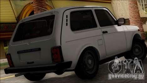 ВАЗ 2121 Нива BUFG Edition для GTA San Andreas вид слева