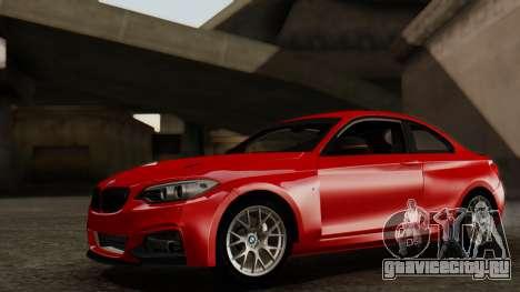 BMW M235i F22 Sport 2014 для GTA San Andreas вид изнутри