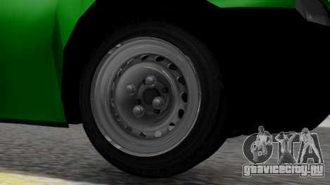 Chevrolet Combo 1.4 v2 для GTA San Andreas вид сзади слева