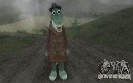 Крокодил Гена для GTA San Andreas второй скриншот