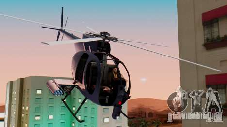 GTA 5 Buzzard для GTA San Andreas