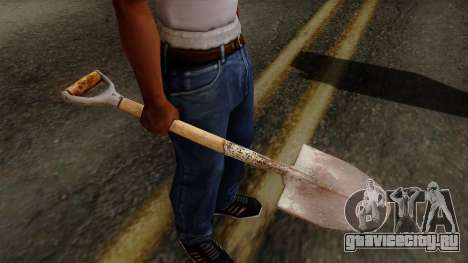 Original HD Shovel для GTA San Andreas