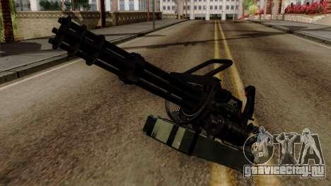 Original HD Minigun для GTA San Andreas