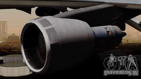 Boeing 747 PanAm для GTA San Andreas вид справа