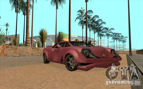 GTA VC Infernus SA Style для GTA San Andreas вид слева