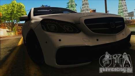 Mercedes-Benz E63 Brabus BUFG Edition для GTA San Andreas вид слева