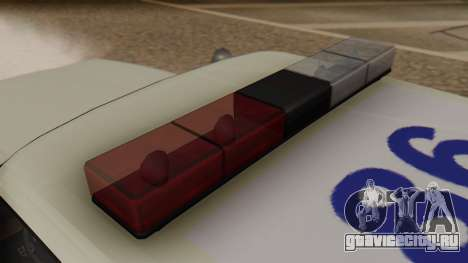 GTA 5 Albany Esperanto Police Roadcruiser для GTA San Andreas вид сзади