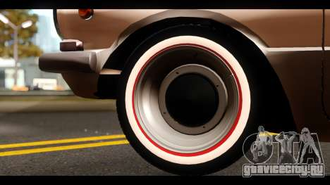 ЗАЗ 968А для GTA San Andreas вид изнутри